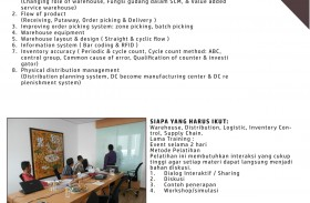 Training Warehouse Management & Distribution System 16 – 17 April 2015